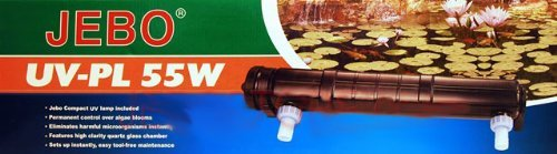 Jebo Aquarium UV Sterilizer 55 Watt-300 Gallons