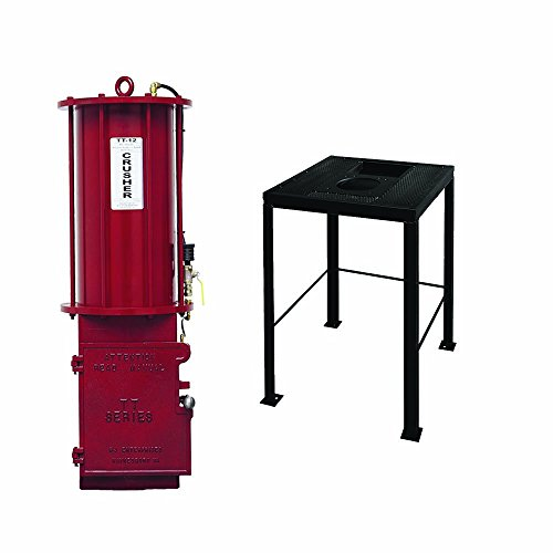 - BJE 008210 TT12 Pneumatic Truck Oil Filter Crusher with no.7550 Crusher Stand and Reservoir
