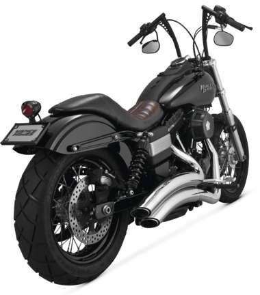 (Vance And Hines Super Radius Chrome 2006-2014 H-d Dyna Complete Systems #26053)