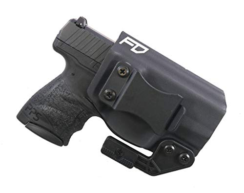 Fierce Defender IWB Kydex Holster Walther PPS M2 The Paladin Series -Made in USA- (Black)