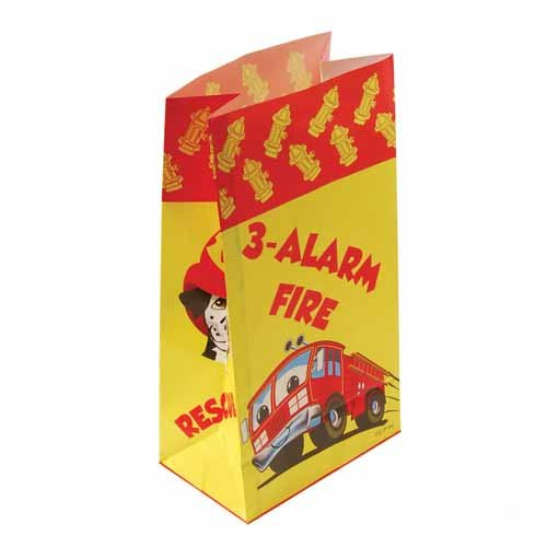 Dozen Firefighter Paper Favor Bags product image