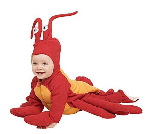 Paper Magic Group Lobster Costume, Red, 12 - 18 Months (Paper Magic Group Costumes)