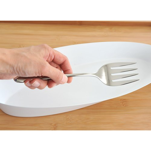 Tenedor para servir pescado Alessi LCD01//19 Caccia