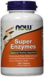 NOW Super Enzymes,180 Tablets