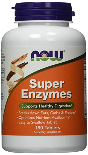 NOW Super Enzymes 180 Tablets