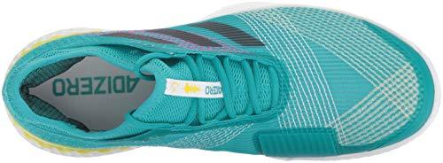 c192558891f006 ... adidas Men's Adizero Ubersonic 3 Tennis Shoe, White/Legend Ink/Shock  Yellow,