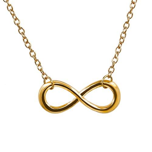 Noble elegant clavicle necklace for womens(Gold+Sliver) (Gold)