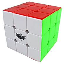BigWorld Magic Cube No Sticker puzzle Ultra-Smooth Twist Rubic's Rubik's Rubix toy 3x3x3