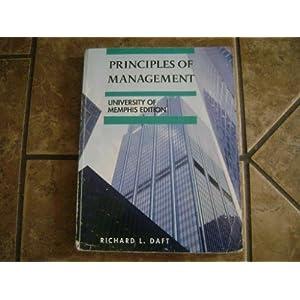 Principles of Management (University of Memphis Edition) (2008)