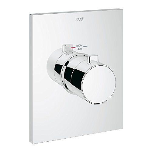 Grotherm F Single-Handle Thermostatic Trim With Control Module GROHE