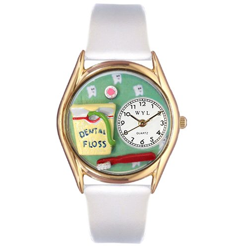 Dental Assistant Watch Small Gold Style