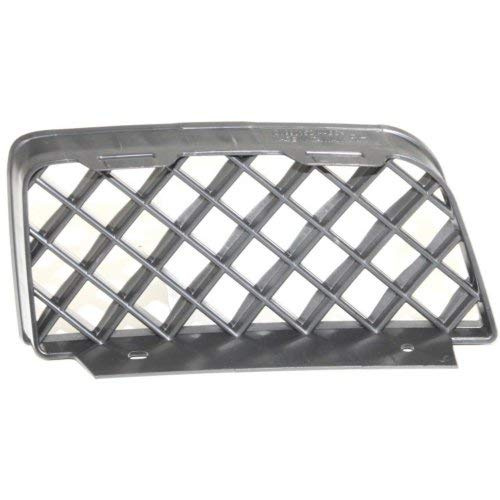 Front Bumper Grille Compatible with CHEVROLET TRAILBLAZER 2006-2009 RH Outer LS/LT/SS Models ()