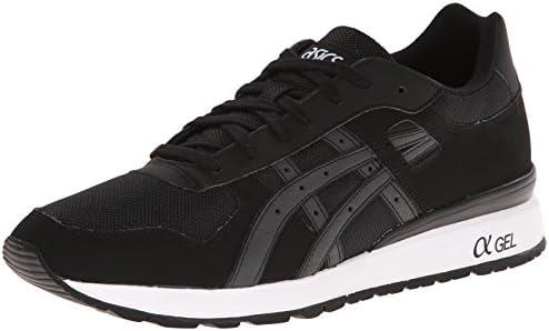 ASICS GT-II Retro Running Shoe, Black/Black, 4.5 M US: Amazon.com ...