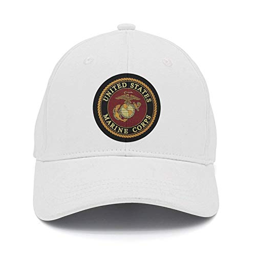 97694adff23 USMC-Eagle Globe and Anchor Cotton Adjustable Cowboy Cap Baseball Cap  ForAdult 00738