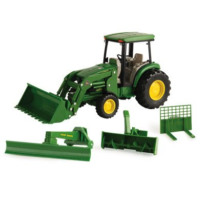 toy tractor with snow blower - 4