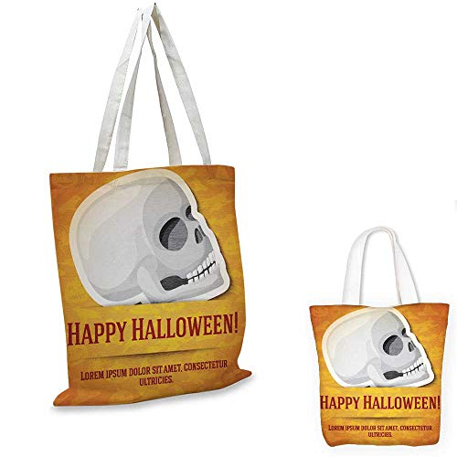 easy shopping bag Happy halloween greeting card with