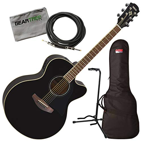 Used, Yamaha APX600 BL Black Thin Body Acoustic-Electric for sale  Delivered anywhere in USA