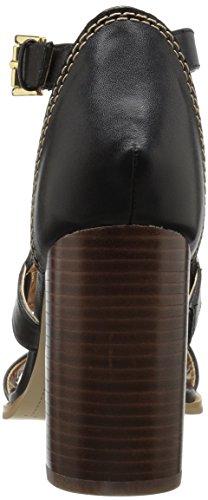 Tommy Heeled Women''s Black Pierpont Sandal Hilfiger YqBrwY
