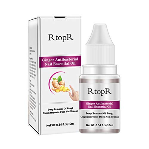 - MChoice❤️RtopR Ginger Antibacterial Nail Treatment Antifungal Nail Toe Fungus Repair 10ml