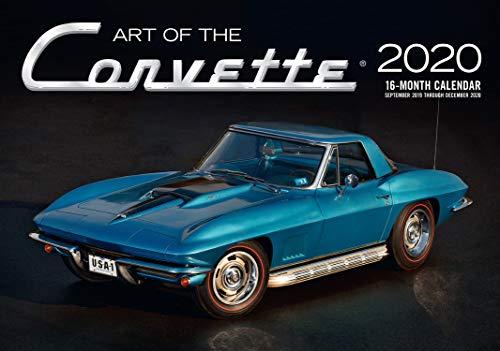 Art of the Corvette 2020: 16-Month Calendar - September 2019 through December 2020