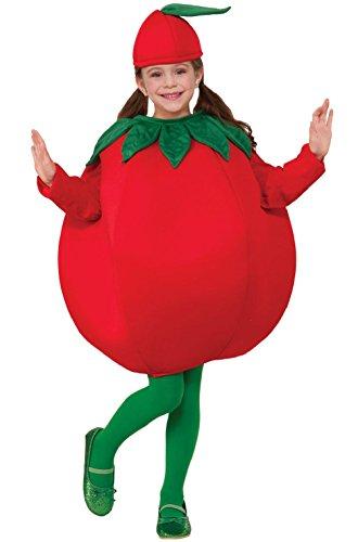 [Tomato Vegetable Child Costume] (Vegetable Costumes For Kids)