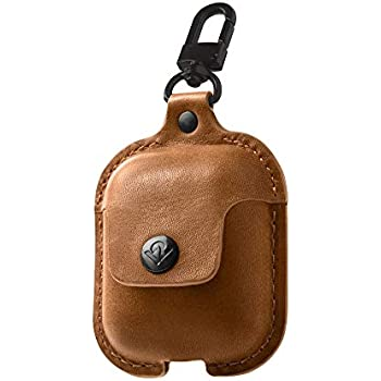 Amazon.com: elago AirPods Leather Case [Brown