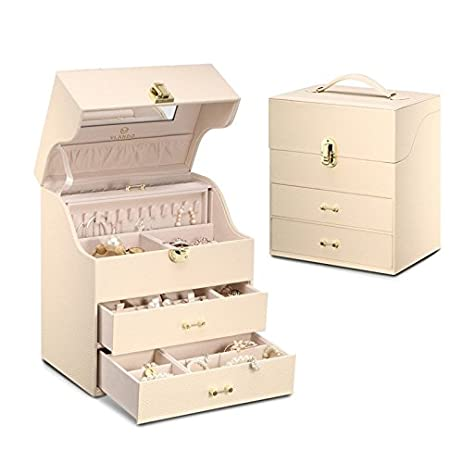 Amazoncom Vlando Volta Large Jewelry Box Organizer and Storage