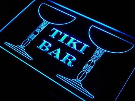 Cartel Luminoso ADV PRO s135-b Tiki Bar Cocktail Mask Beer ...