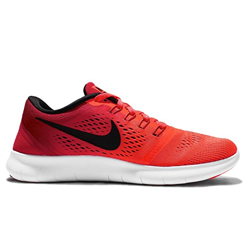 White Running Nike Total Free Entrainement Red Femme Black Crimson Chaussures de Run Gym wSgqITS7