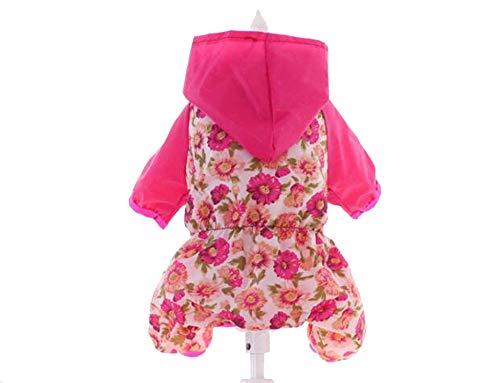 (Large Dog Clothes Wholesale Dog Raincoat L005,Red,8)