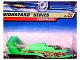 Mattel Hot Wheels 1998 1:64 Scale Biohazard Series Green Hydroplane Die Cast Car 1/4