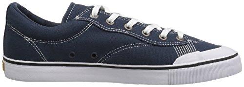 Skate Shoe Men Emerica Indicator Low Skate Shoes Navy/White 0Pi0OpEpjm