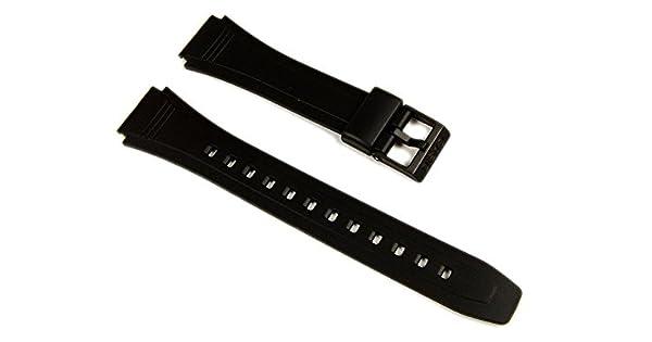 : Casio Correa de Reloj Watchband Resina 18 mm