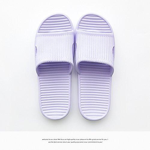 36 femmina 37 silent leggero chiaro home nbsp;Le indoor estate viola pantofole uomini Fankou nbsp; in antiscivolo bagno coppie pantofole schiuma nqaTwWBzvB