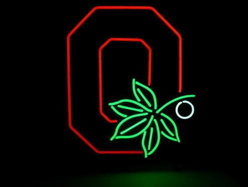 Ohio State Buckeyes 3 Beer Bar Pub Store Party Room Wall Windows Display Neon Signs 19x15