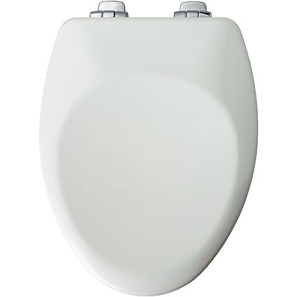 Incredible Bemis 885Chsl 000 Church Elongated Easy Close Toilet Seat White Machost Co Dining Chair Design Ideas Machostcouk