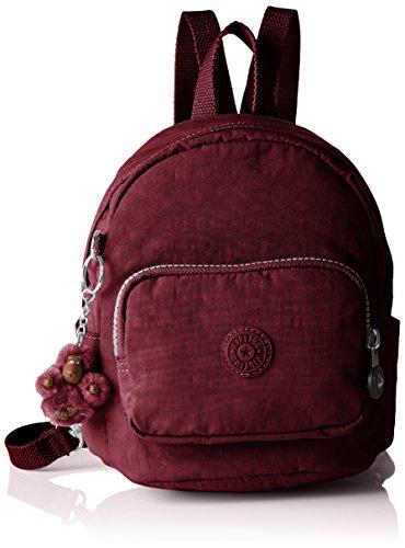 Kipling Backpack Rojo 5x17 Para Mochilas Cm Mini Mujer 19x21 rrwq5a4x