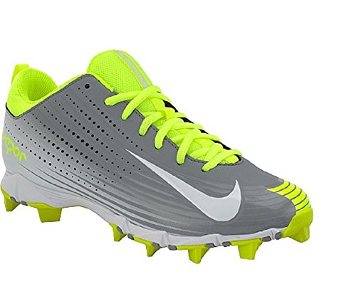 Nike Mens Vapor Keystone 2 Baseball Cleat Grijs / Volt / Wit