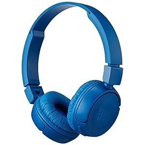 JBL Pure Bass Sound Bluetooth T450BT Wireless On-Ear Headphones Blue