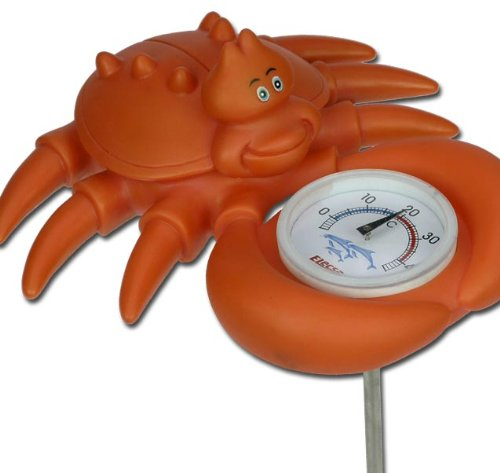 Krabbe Pool Schwimmbad Teich Thermometer Zubehör Modell ELECSA 3081