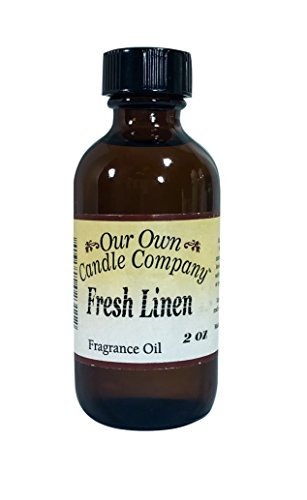Fresh Linen Fragrance Oil - Our Own Candle Company Fragrance Oil, Fresh Linen, 2 oz