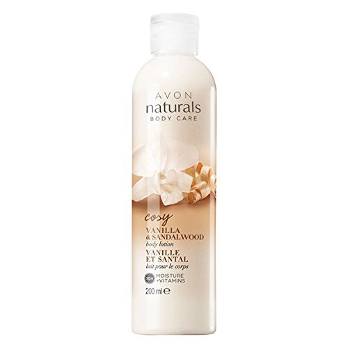 Avon Vanilla Body Lotion (Avon Naturals Vanilla & Sandalwood Body Lotion)