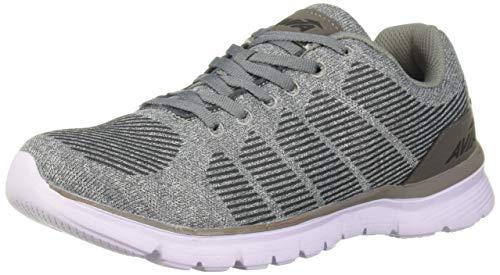Avia Women's Avi-Rift Sneaker, Cool Mist Frost Grey/Black, 6.5 Medium US