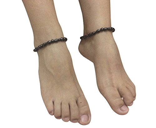 Dr Kao® 2 Pack Magnetic Therapy Anklet Bracelet for Women Magnetic Bracelet Pain Relief for Arthritis and Carpal Tunnel for Arthritis Pain Relief Magnets for Anxiety Relief for Carpel Tunnel ()