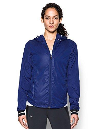 Under Armour Women's Storm Layered up Jacket, Grape Fusion/Reflective, Medium (Womens Fusion Jacket)