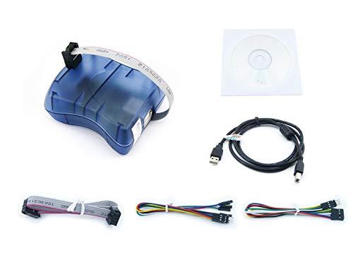 Waveshare ATMEL AVR Programmer USB AVRISP XPII Compatible Atmel AT AVR ISP mk2 mkII In-System Programmer Supports AVR Studio - Programmer Avr