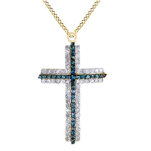 Yg Diamond Cross - 7