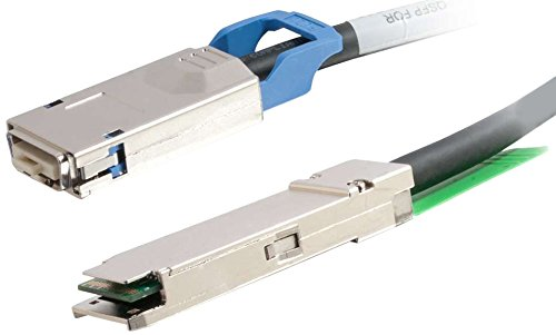 C2G/Cables to Go 06172 28AWG CX4/QSFP+ InfiniBand Cable (3 Meters/9.8 Feet)