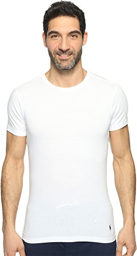Polo Ralph Lauren Slim Fit Crew Neck Undershirts 3-Pack White Large