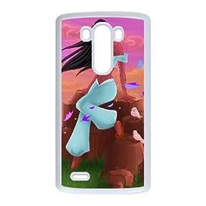 LG G3 Cell Phone Case White Pocahontas 011 YWU9336989KSL